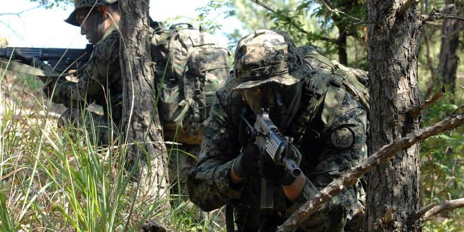 Hundreds of special forces personnel mobilized to support virus fight | Yonhap News