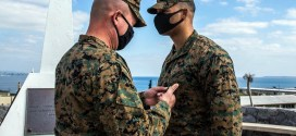 Marine honored on Okinawa for saving life of fellow Marine threatening suicide | Stars & Stripes