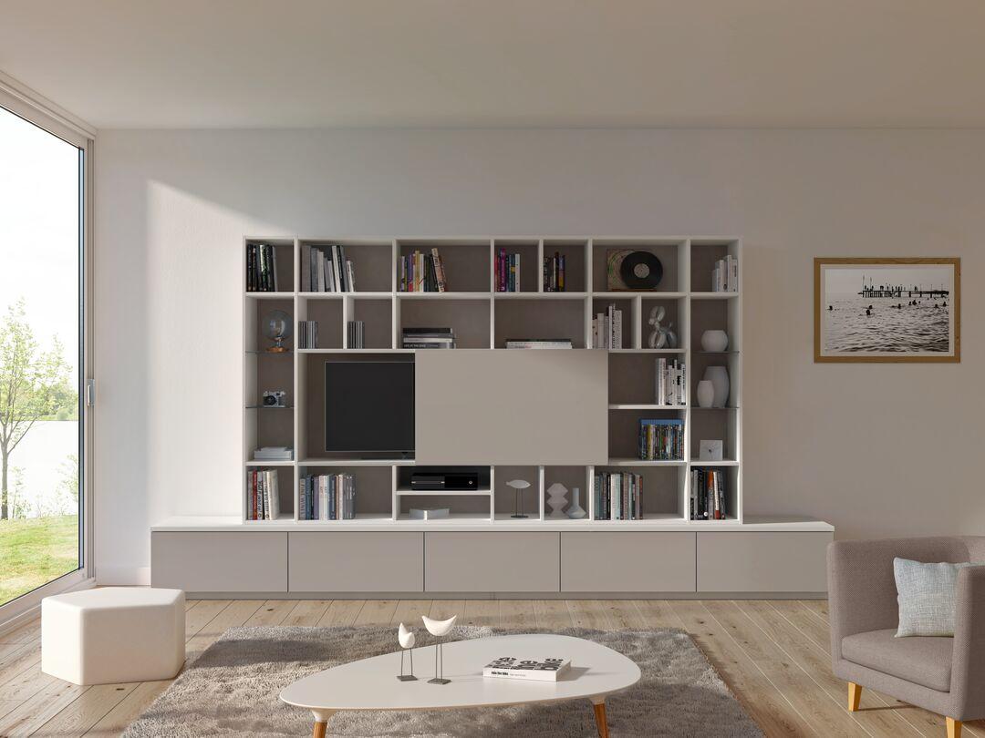 un meuble tv sur mesure pour salon sogal
