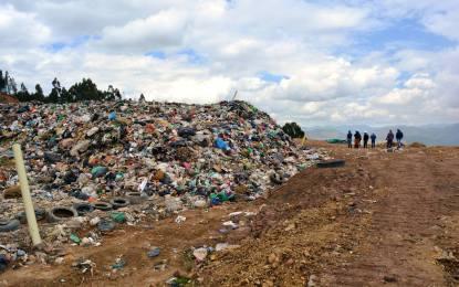 Coservicios suspende la recepción de residuos sólidos para 43 municipios en el relleno sanitario Terrazas del Porvenir