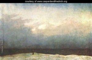 Monk-on-the-Seashore