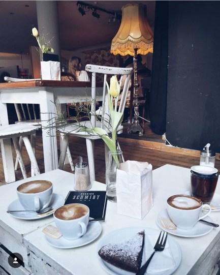 Pension Schmidt is probably the most popular vintage café in Münster Photo by Sibel Geldi