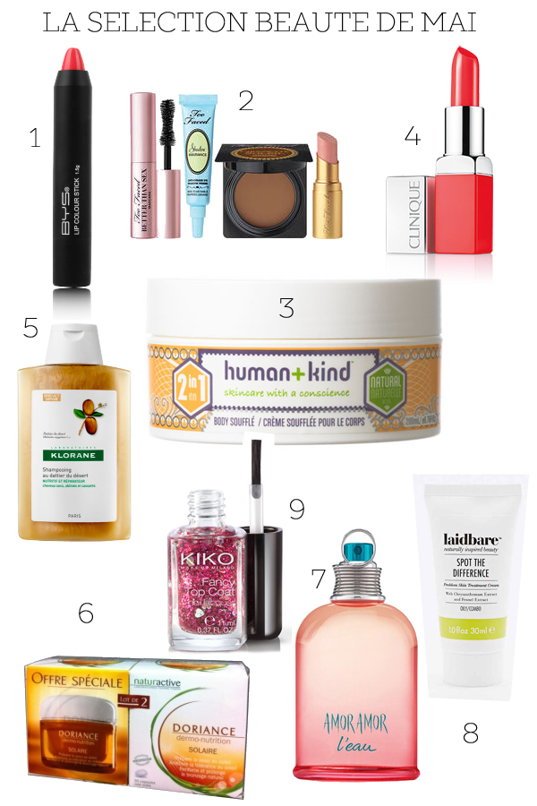produits beaute mai 2015