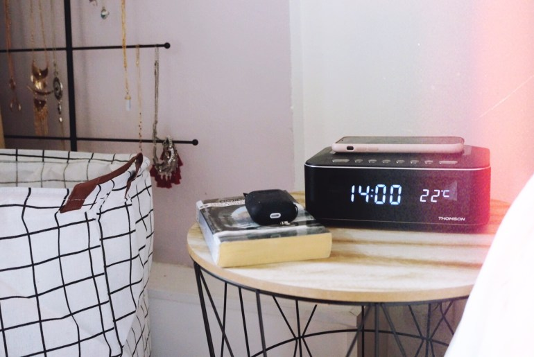 Radio-réveil Bluetooth® CR400IBT