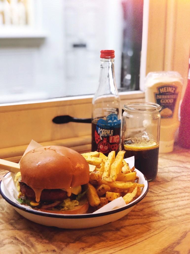 honest burger londres
