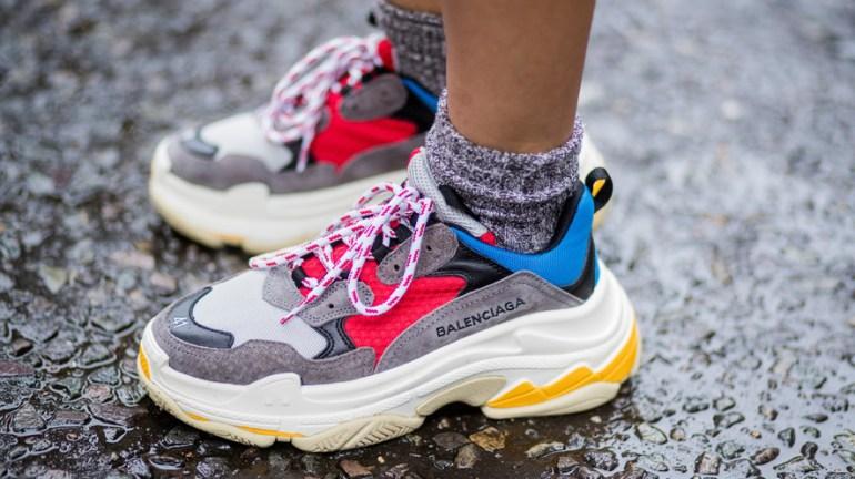 dad shoes tendance printemps été 2019