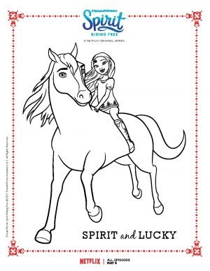 SPIRIT E LUCKY