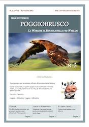 Per i sentieri di Poggiobrusco n. 3 - Webzine