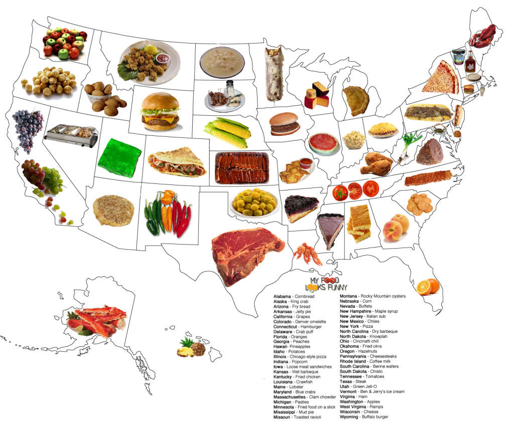 Eating Styles Regional Foods