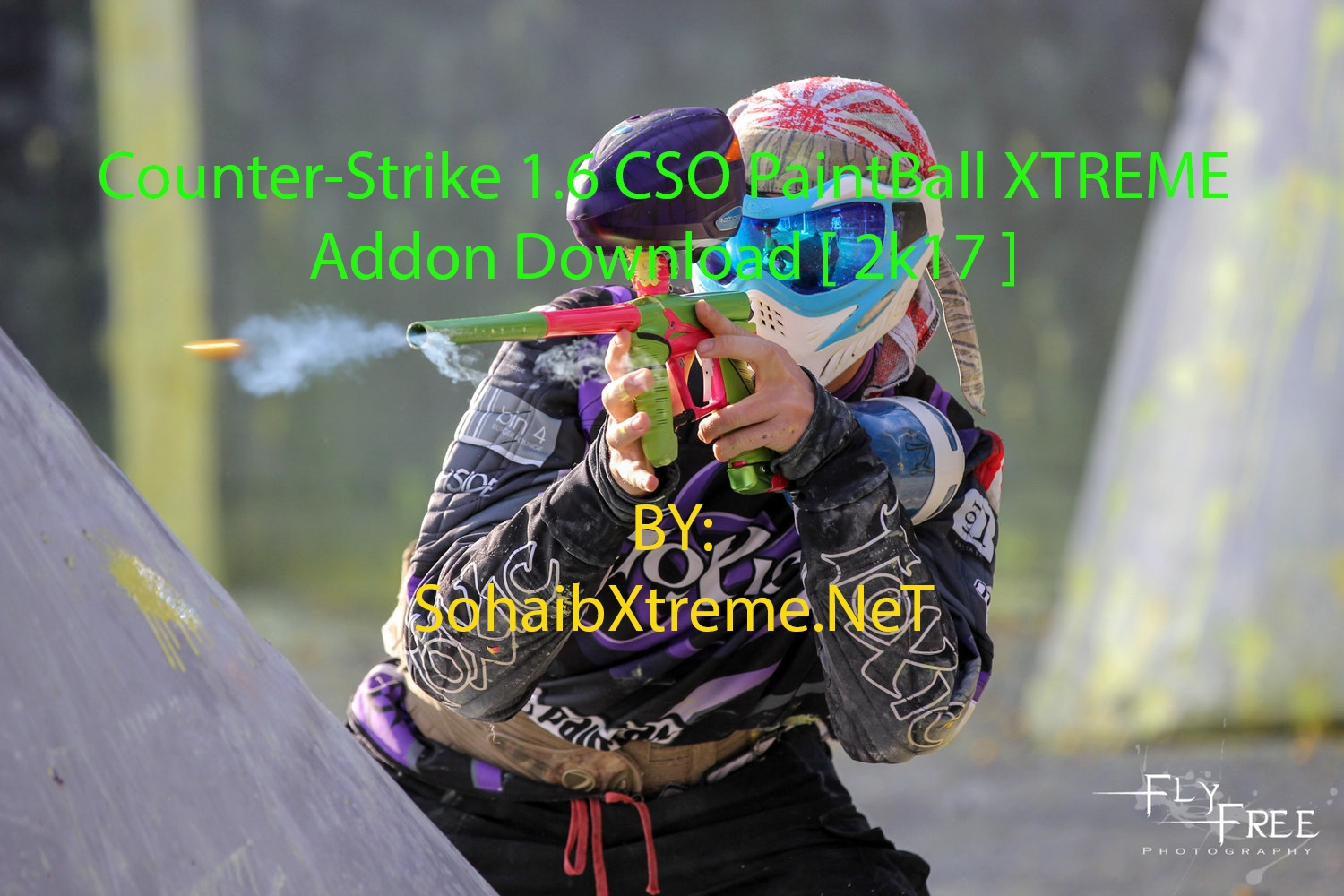 Counter-Strike 1 6 CSO PaintBall XTREME Addon Download