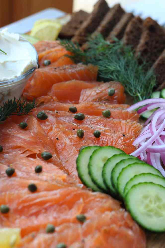 Lox is a traditional and well-loved holiday appetizer! Salmon is cured with smoked