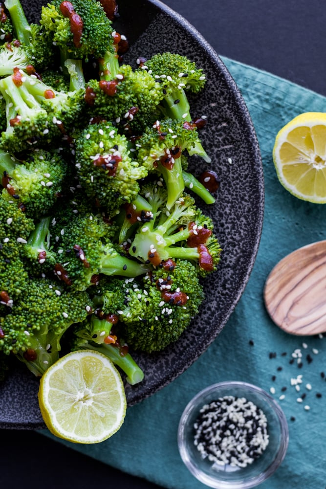 Spicy Steamed Broccoli So Happy You Liked It