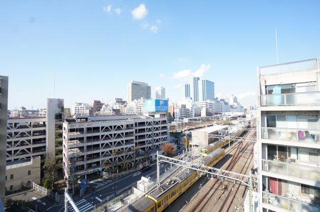 リフュージュアイサウス702号室眺望|SOHO東京