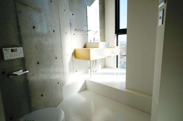 STEPS702号室洗面台 SOHO東京