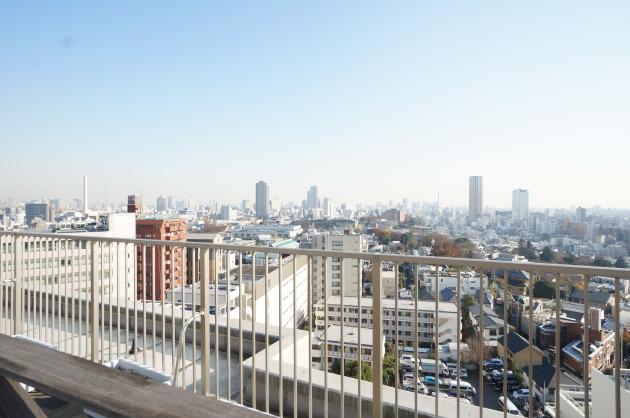 パレステュディオ渋谷WEST眺望
