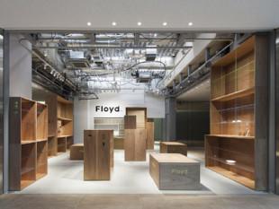 Floyd kitte Marunouchiの店舗デザイン
