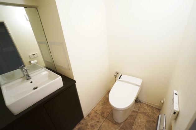 原宿コーポ908号室トイレ|SOHO東京