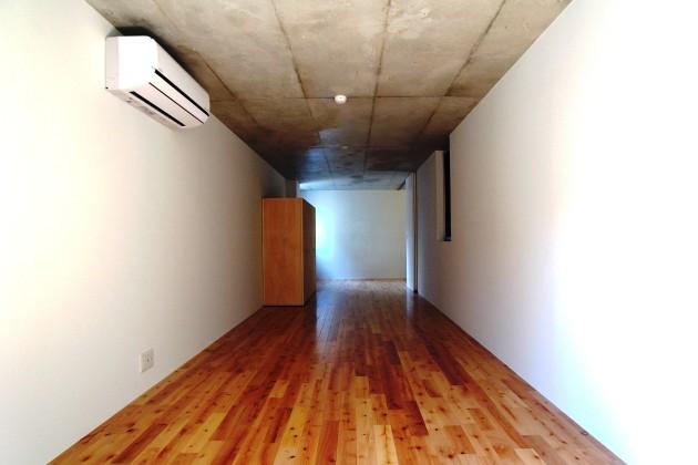 BROOK HOUSE E号室玄関からの眺め|SOHO東京