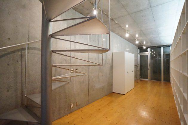 【募集終了】永福町、吹き抜け螺旋階段のあるデザイナーズSOHO