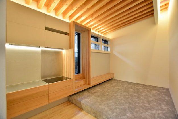 【募集終了】参宮橋7分。光と緑を詰め込んだ木箱