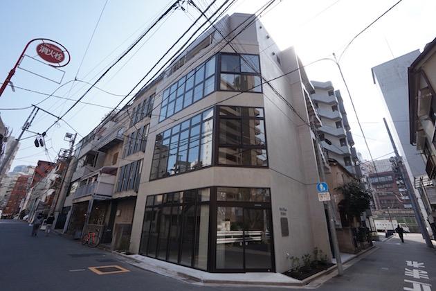 【募集終了】恵比寿5分。コンクリート打ち放し新築オフィス。