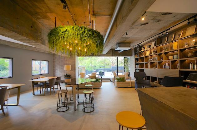 三田・田町エリア、GREEN & HOTELをテーマにしたリノベオフィス