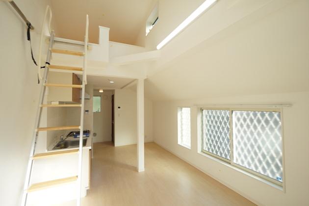【募集終了】恵比寿。3階建て築浅メゾネットSOHO。