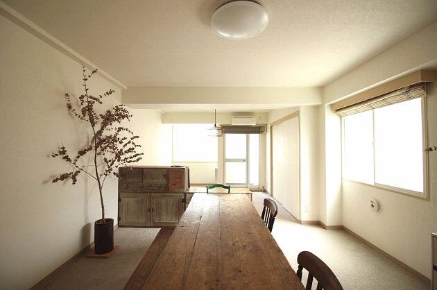 麻布十番、家具付き広々ワンルームリノベSOHO。