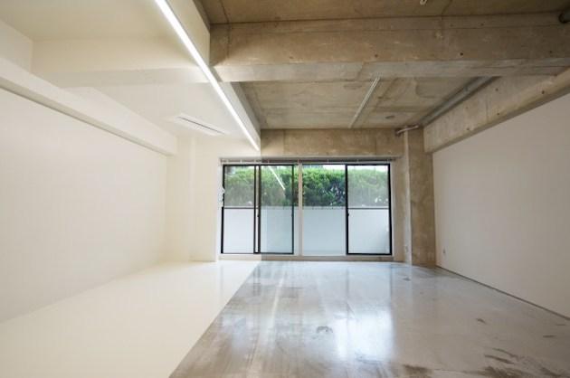 原宿・北参道エリア、シンプルデザインのリノベオフィス