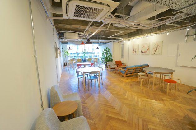 【募集修了】品川4分の天高オフィス。充実した共用部とアートに囲まれて。
