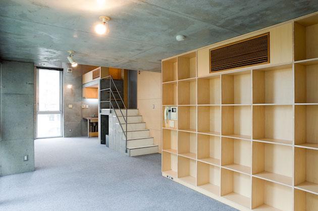 【募集終了】高田馬場、著名建築家が魅せる木とコンクリートの妙