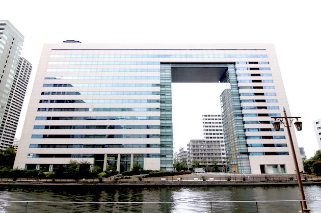 品川、ブリッジデザインが美しい川沿いの大型SOHO