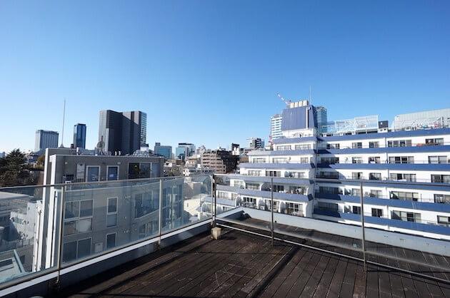 【募集終了】渋谷。白基調のメゾネットルーバル付贅沢空間