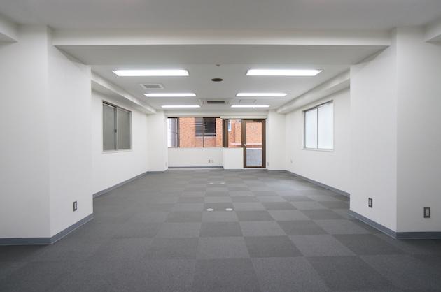 【募集終了】渋谷駅徒歩4分、宮益坂上そば。約20坪のシンプルなオフィス。