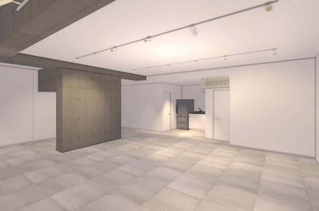 東新宿駅6分、地下に広がる新築デザイナーズ、店舗利用相談可
