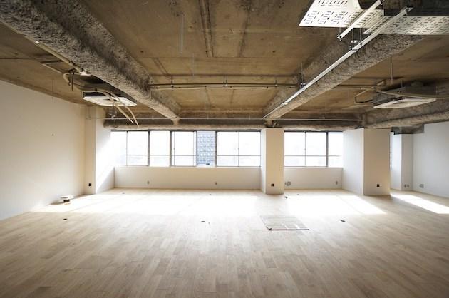 品川エリア、70坪ワンフロアのリノベオフィス