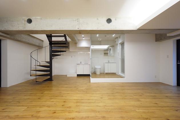 中目黒エリア、店舗利用も可能な地下空間。<p>[目黒区/33万/52㎡]