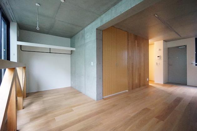 千駄ヶ谷、木材の温かみ感じる新築デザイナーズSOHO<p>[渋谷区/18万/35㎡]