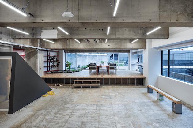 池尻大橋、オフィスの未来を示すスペースを居抜きで<p>[目黒区/¥ASK/493㎡]