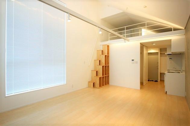 神宮前。ロフト付き、新築デザイナーズでスタート。<p>[渋谷区/28万/45㎡]