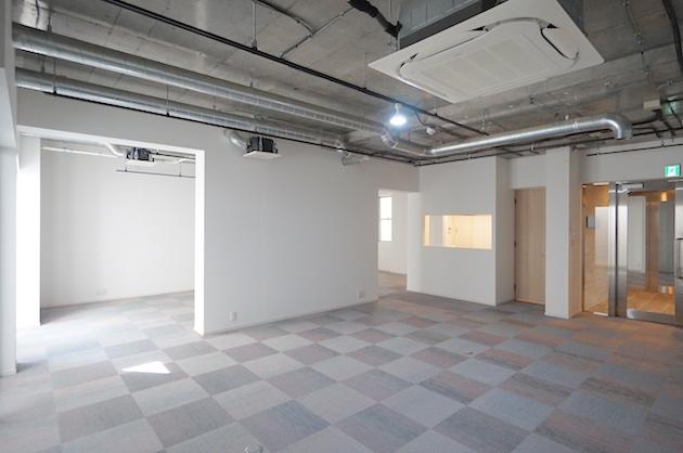 【募集終了】池尻・中目黒、スケルトン天井の新築オフィス