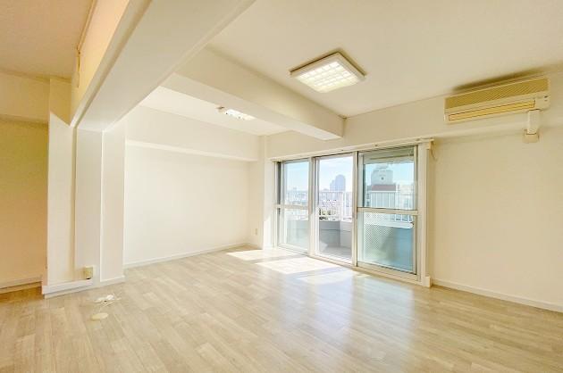渋谷南平台。実用性に優れたヴィンテージマンションの一室で<p>[渋谷区/23万/63㎡]