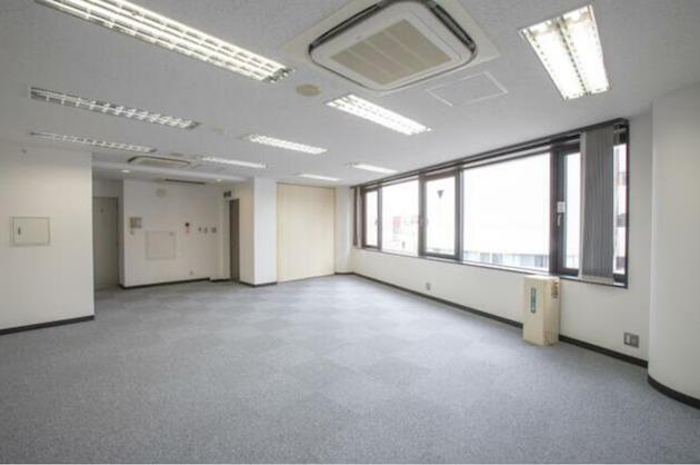 代々木4分。視認性高いシンプルなワンフロアオフィス<p>[渋谷区/33万円/52㎡]