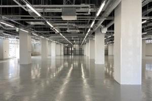 天井高最大5m。素材を活かしたリノベオフィス<p>[中央区/¥ASK/1000㎡]