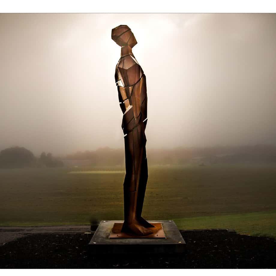 Visionary-5m--CortenAluminium-[Corten,Landmark]-Large--Scale-human-sculpture--vick-damien-australian-artist