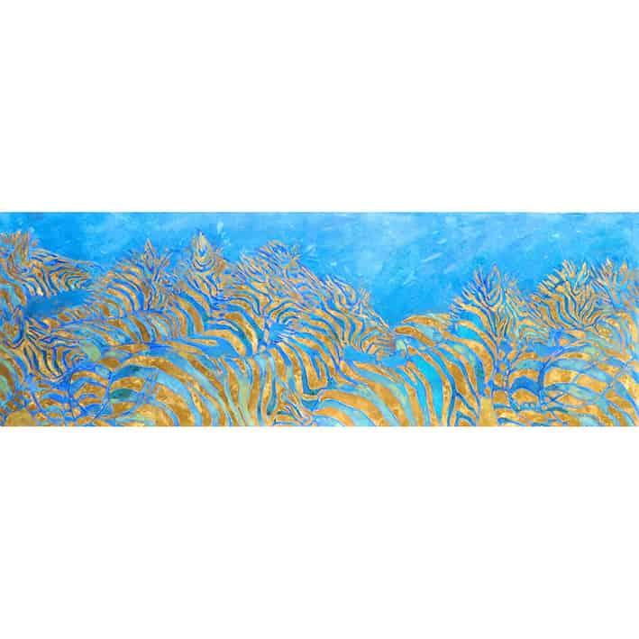 zebra aqua landscape