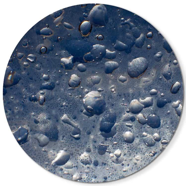 Droplets-1A-Dig-Print-on-Chromaluxe-Alum-76cm-Diam-SMITH