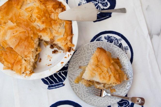 Pita od jabuka sa gotovim korama