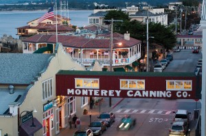 Cannery Row at twilight