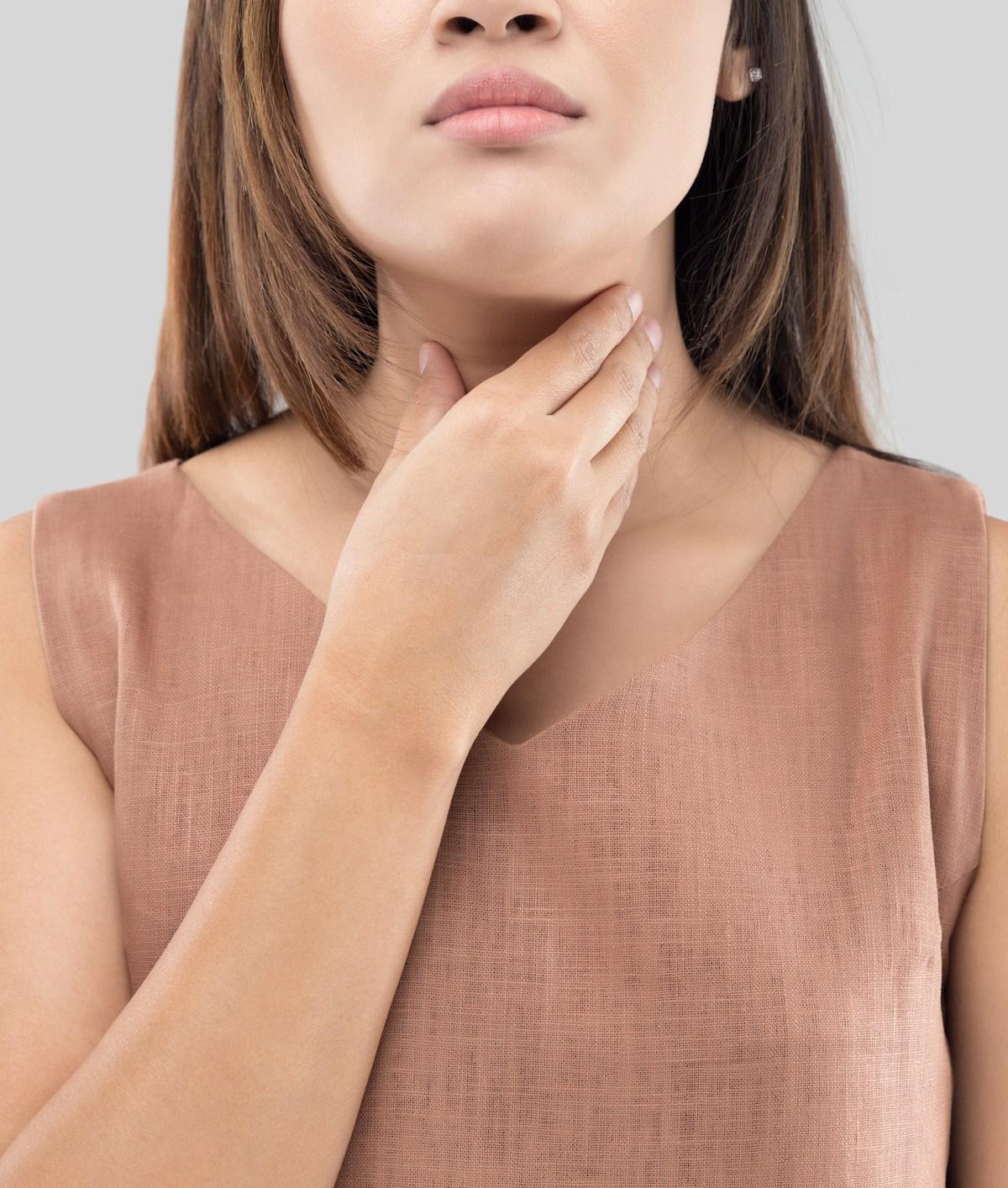 Comment soigner naturellement un mal de gorge